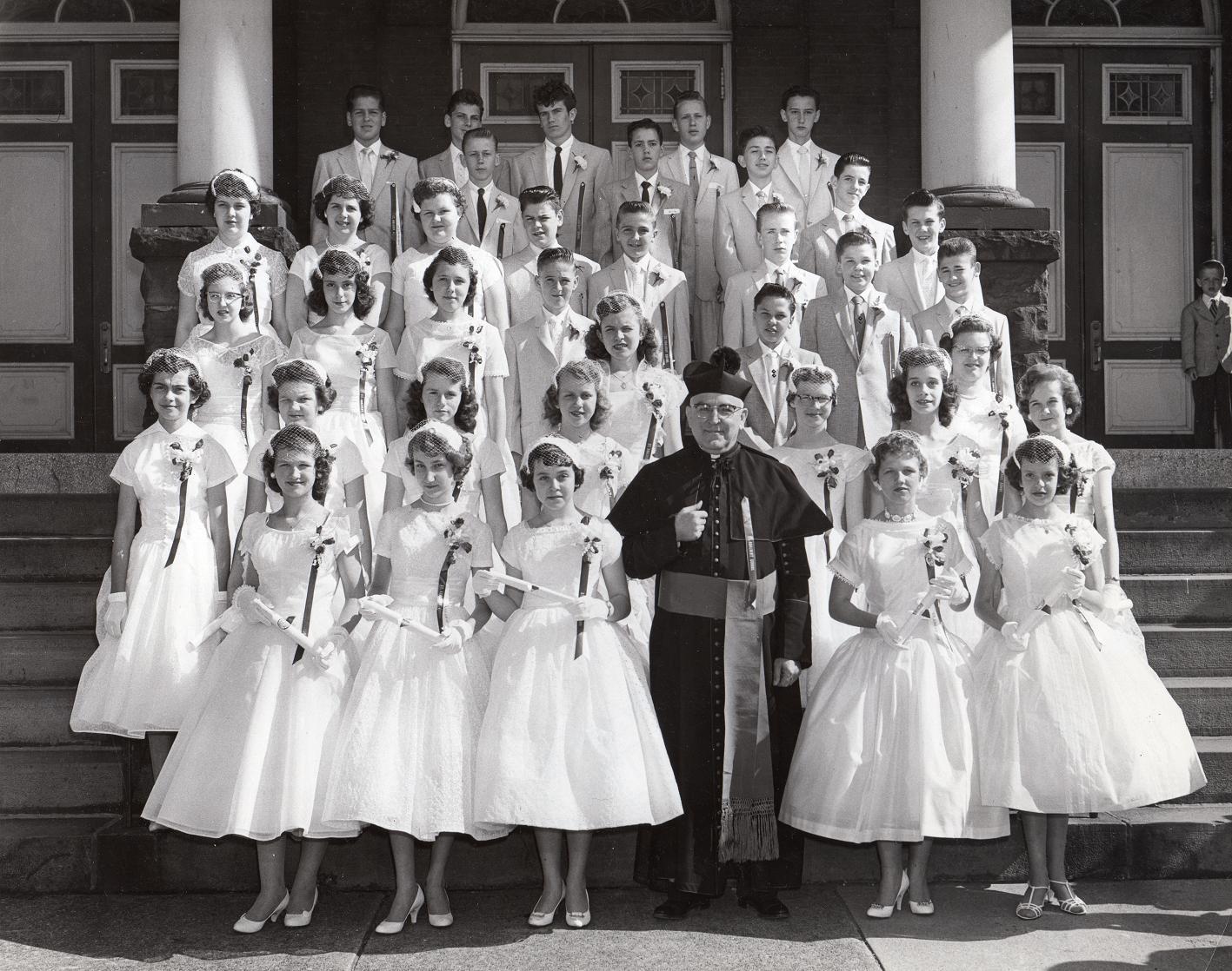 Graduation Class. 1958